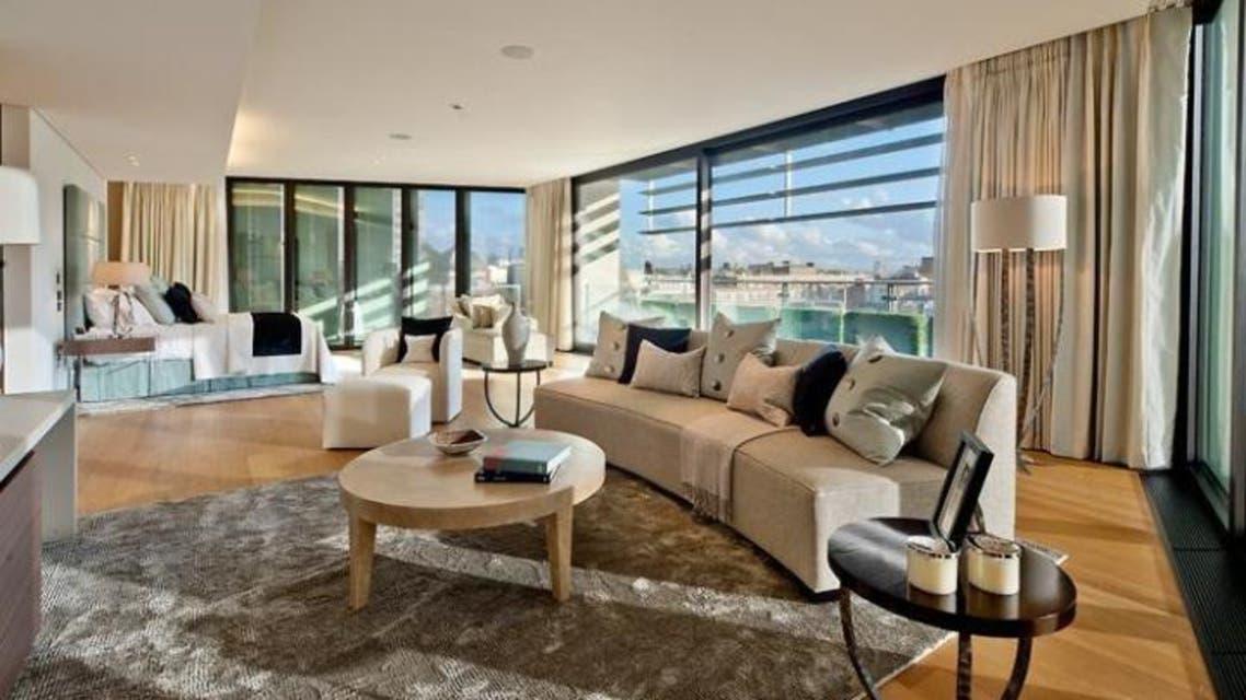 شقة في لندن