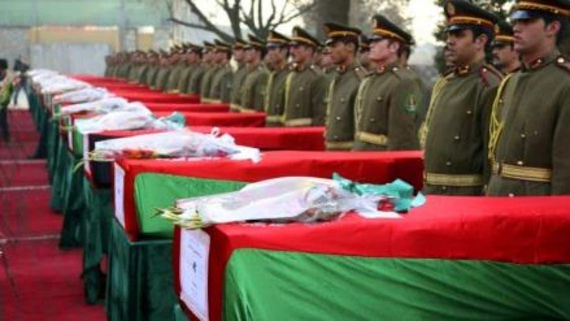 قربانیان ارتش افغان
