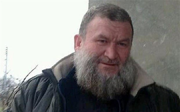 An undated handout picture provided by SITE Intelligence Group allegedly shows Syrian Islamist leader Abu Khalid al-Suri at an undisclosed location in Syria. afp