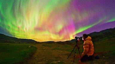 الأضواء الشمالية.. صور ساحرة عند قطبي الأرض