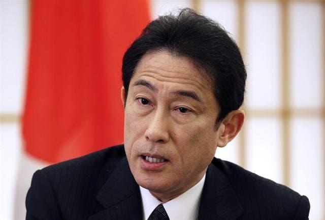 وزير الخارجية الياباني فوميو کيشيدا