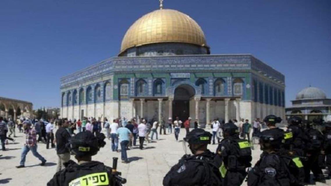 الشرطة الإسرائيلية في المسجد الأقصى