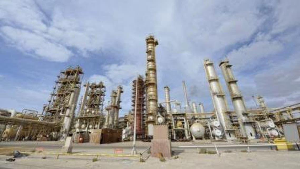 منشأة نفط الليبية في مدينة سرت