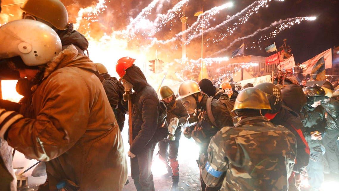 اعمال العنف في اوكرانيا