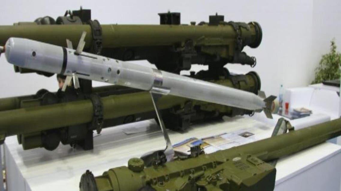 THUMBNAIL_ الحر يستخدم صواريخ السهم الأحمر للتعامل مع الأهداف الثابتة والمتحركة