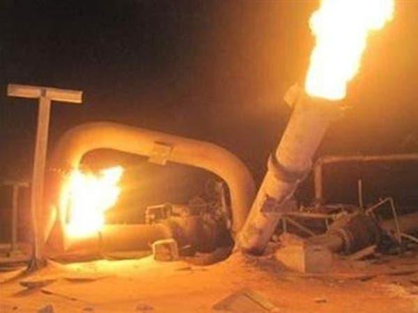 """للمرة 29 تفجير خط الغاز بالعريش.. و""""داعش سيناء"""" يتبنى"""