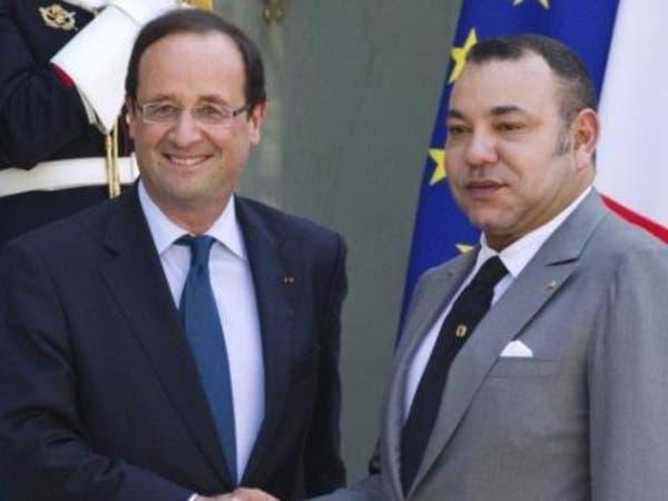 اتصال بين العاهل المغربي والرئيس الفرنسي ينهي الأزمة