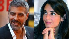 George Clooney takes Lebanese 'date' to Obama