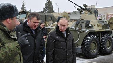 بوتين يتفقد قواته قرب أوكرانيا وسط حالة تأهب عسكري
