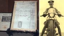 Lawrence of Arabia's bill unpaid, 100 years on