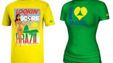 Footie fetish: 'Sexual' World Cup t-shirts upset Brazil
