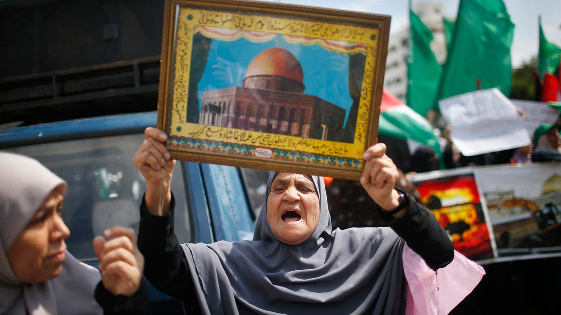 Motion comes in response to the Knesset debate of a law that seeks to impose Israel's sovereignty over al-Aqsa. (File photo: Reuters)