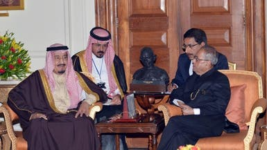 الأمير سلمان يستعرض مع رئيس الهند العلاقات الثنائية
