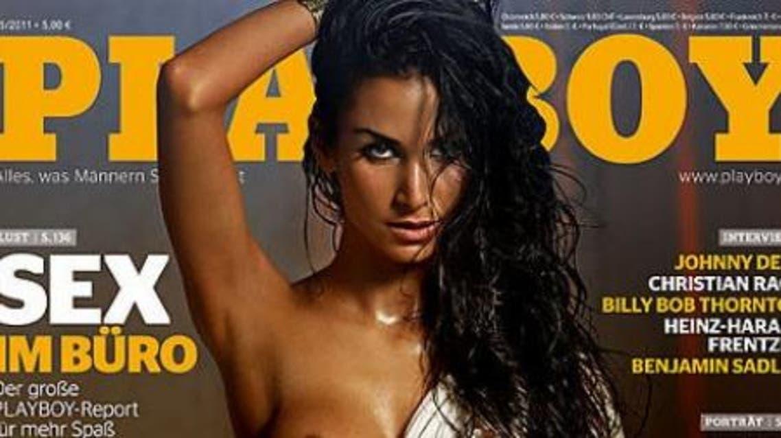 Turkish-German actress causes stir with Playboy shoot