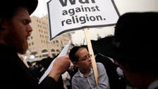 Ultra-Orthodox rally in Israel against draft bill