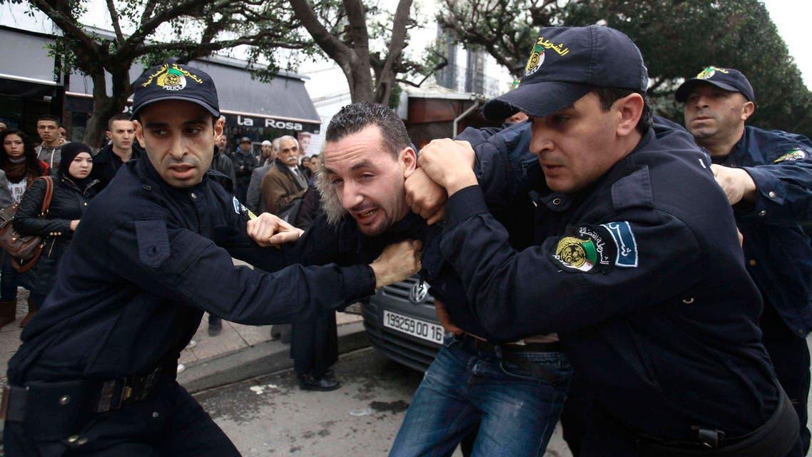 Demonstration against Algerian President Abdul-Aziz Bouteflika