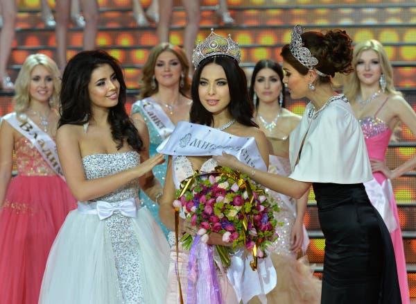 Miss Russia 2014 crowns Yulia Alipova