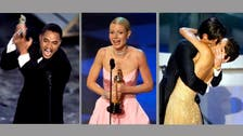 Tears and streakers: memorable moments at the Oscars