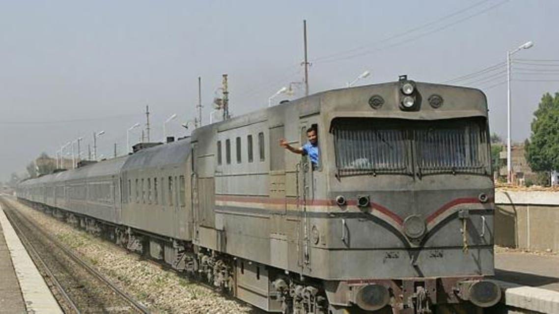قطار في سوهاج