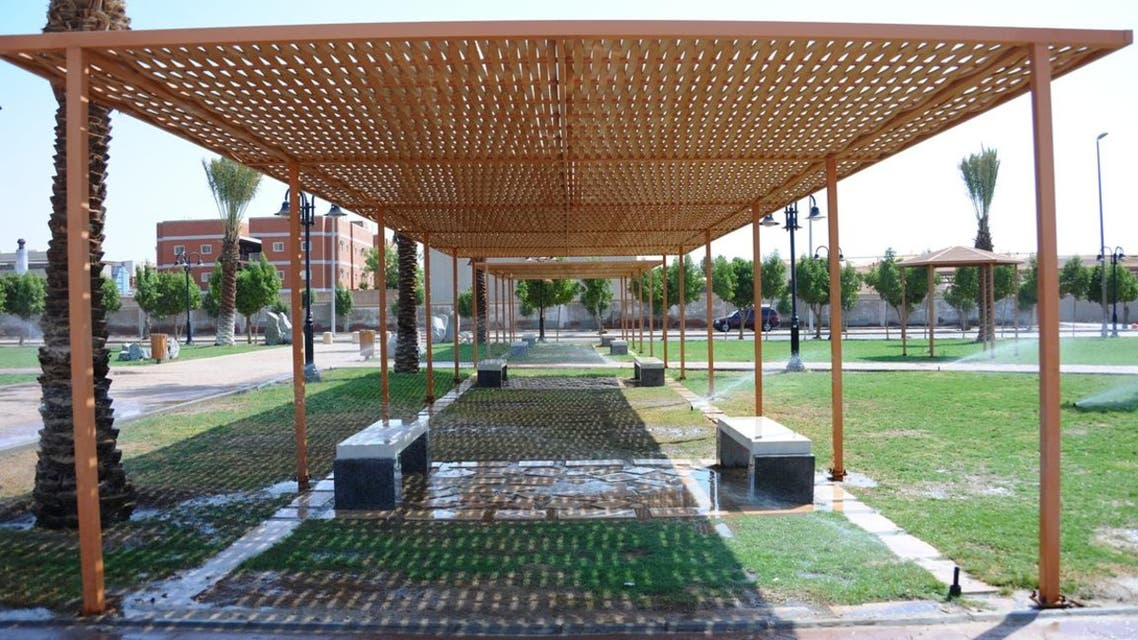 حدائق في مكة