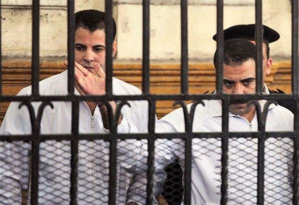السجن المشدد 10 سنوات على الشرطيين قاتلي خالد سعيد