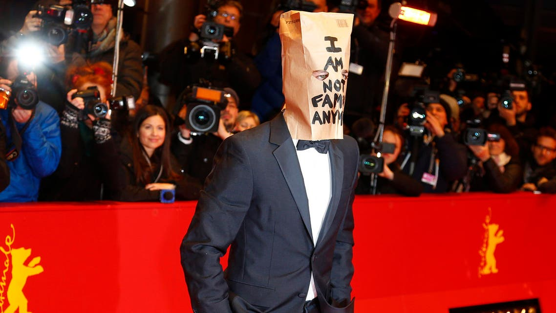 """Cast member Shia LaBeouf arrives on the red carpet to promote the movie """"Nymphomaniac Volume I"""" during the 64th Berlinale International Film Festival in Berlin February 9, 2014 reu"""