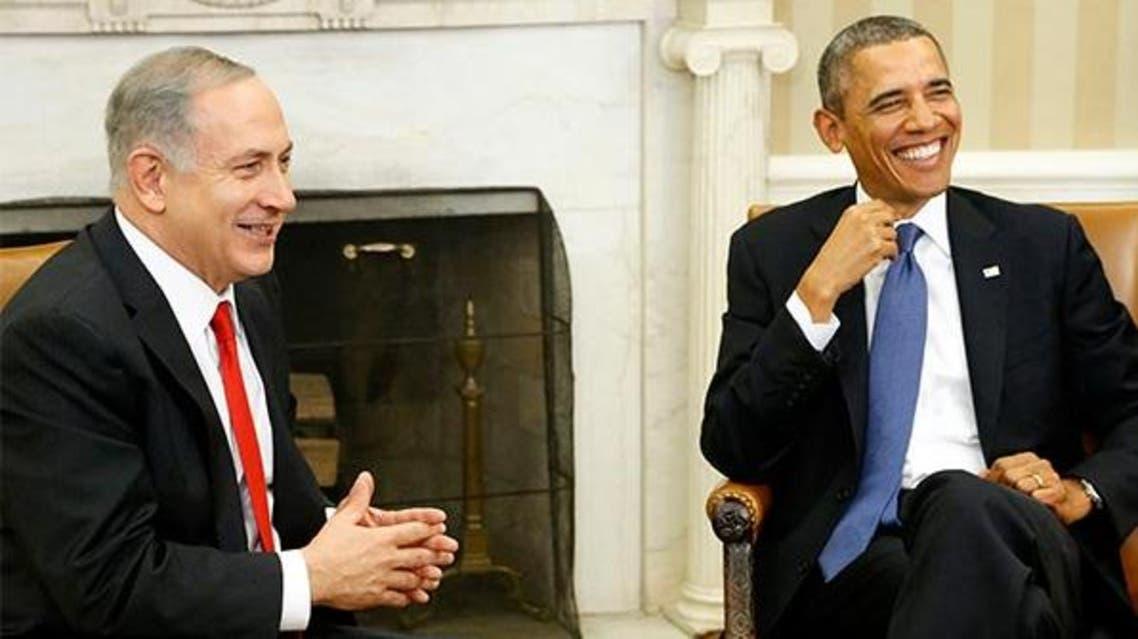 اوباما و نتنياهو في البيت الابيض
