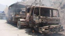 خیبر ایجنسی: نیٹو ٹرکوں پراندھا دھند فائرنگ، دو افراد ہلاک