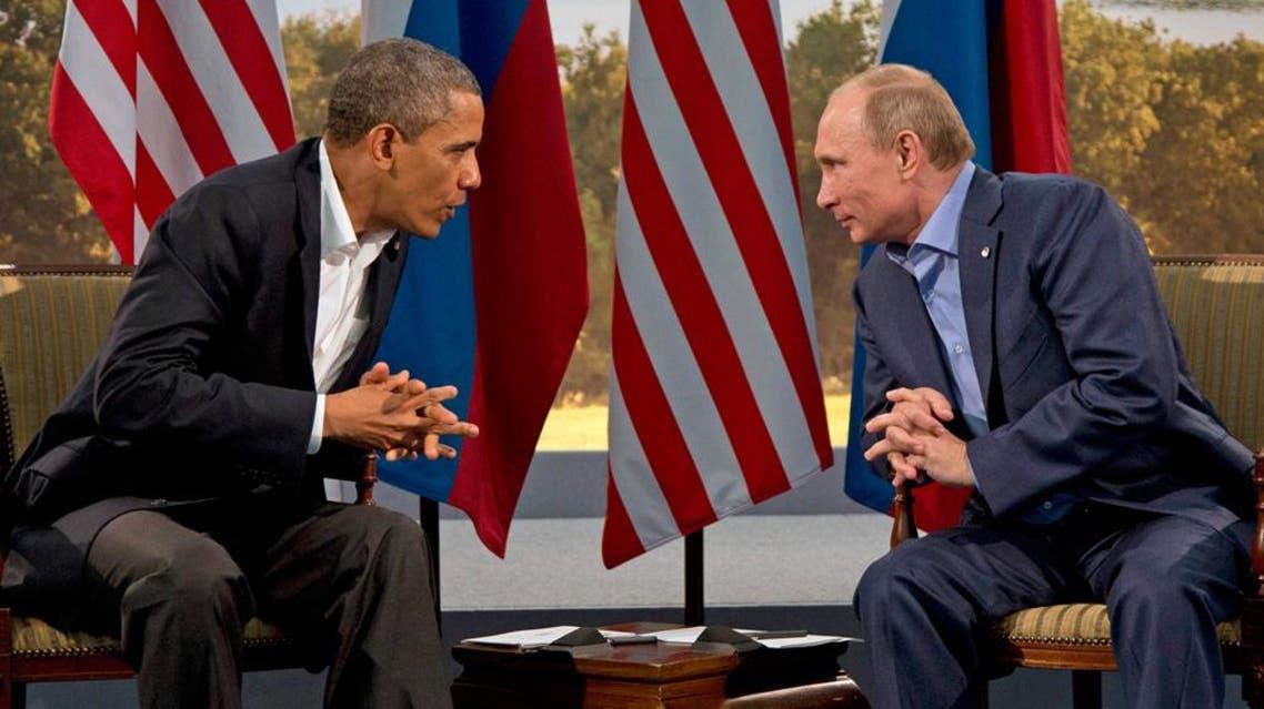 بوتين و اوباما