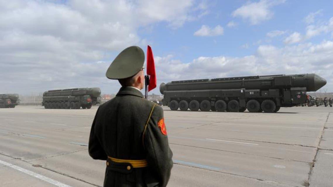 RS-12M Topol ballistic missile (AFP Photo)