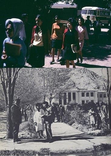 طالبات جامعيات في 1967 بالعاصمة الأفغانية