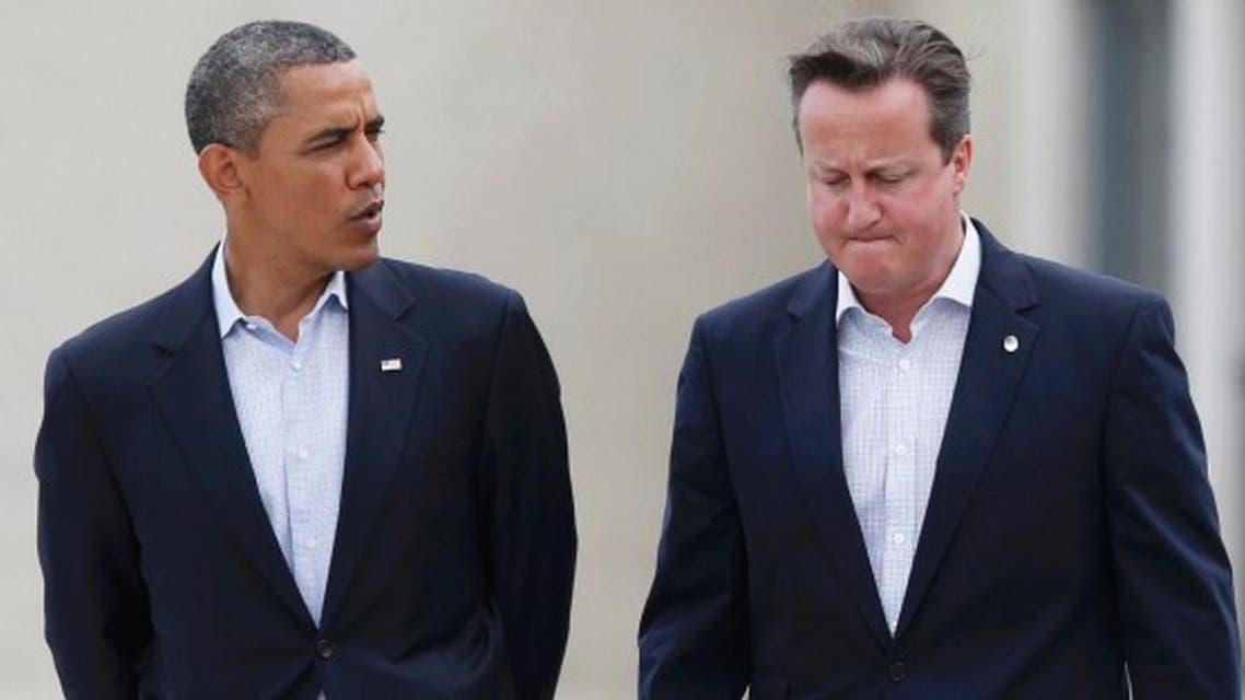 أوباما وكاميرون