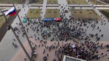 Pro-Moscow youths reclaim Ukraine regional HQ