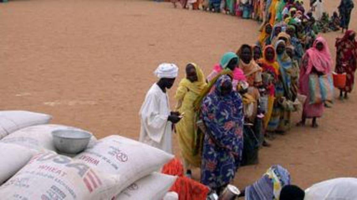 معسكرات النازحين دارفور