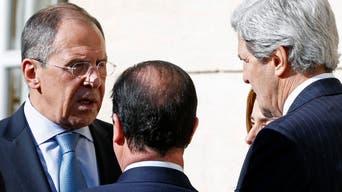 لافروف وكيري يبحثان الأزمة الأوكرانية في جنيف