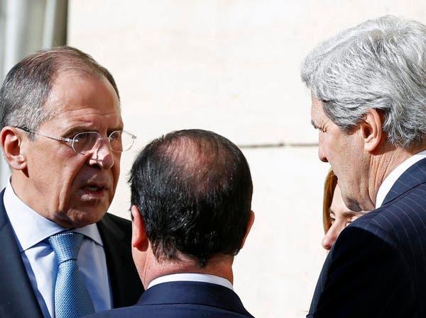 كيري يدعو لافروف لإجراء محادثات حول أزمة منطقة القرم