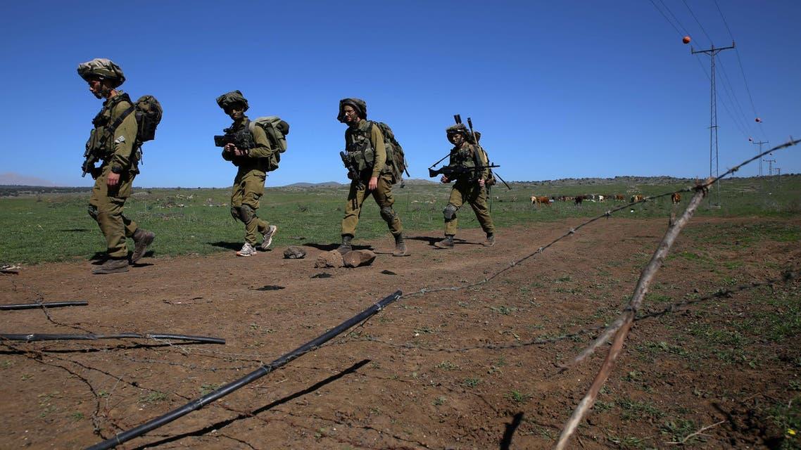 الجيش الإسرائيلي على الحدود السورية الإسرائيلية