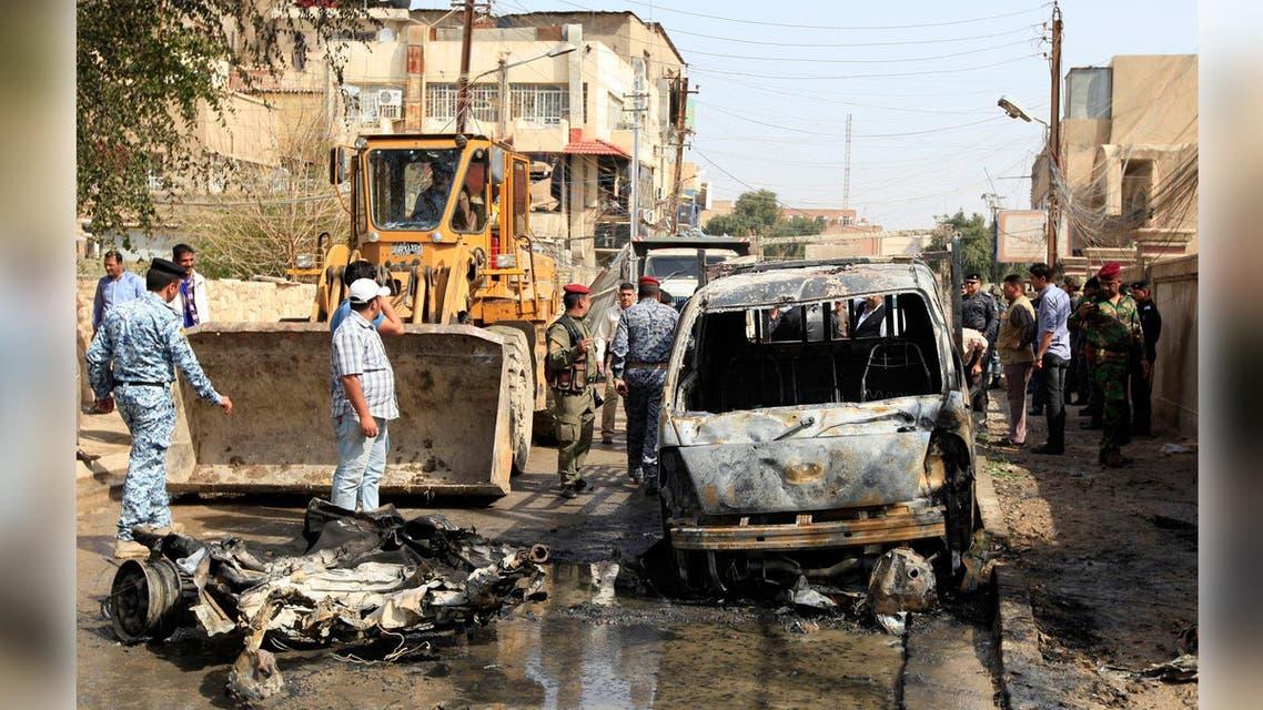 تفجير في العراق سيارة مفخخة