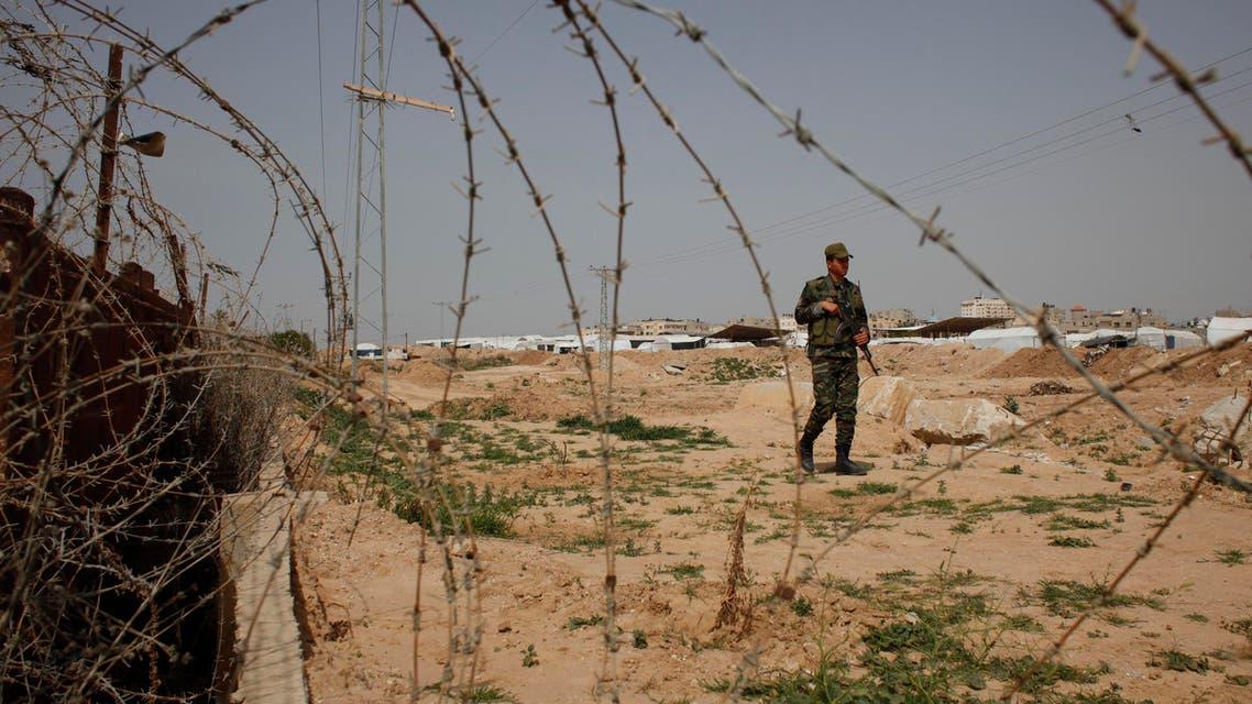 gaza border reuters