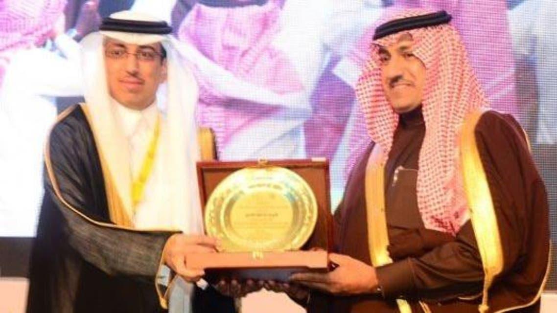 الأمير تركي بن عبدالله خلال رعايته للمناسبة