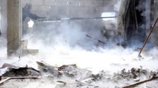 NGO: Five dead in blast by security HQ in central Syria