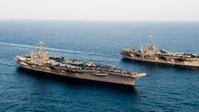 U.S. Navy challenges maritime claims of Iran and China