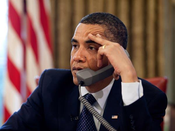 أوباما ورئيس حكومة أوكرانيا يبحثان حلا سلميا للأزمة