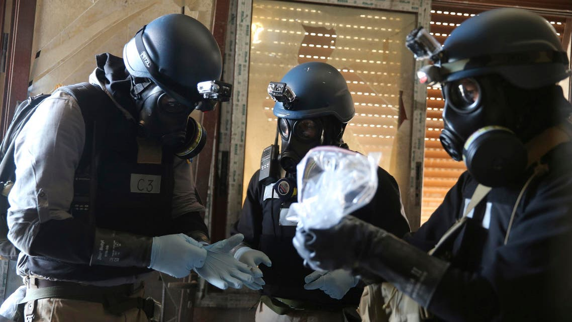 syria chemical weapons reuters