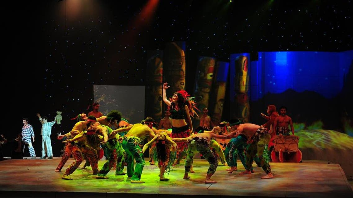 Peter Pan musical in Dubai