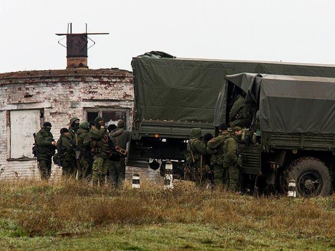 استنفار روسي وتحرك مصفحات قرب الحدود الأوكرانية