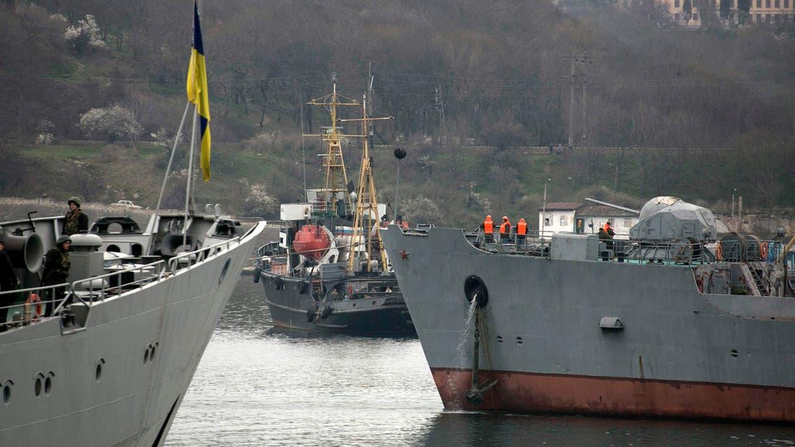 التوتر العسكري بين اوكرانيا وروسيا