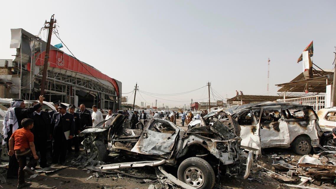 هجمات بسيارات مفخخة في العراق