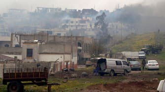 Syria army captures town in strategic Homs province