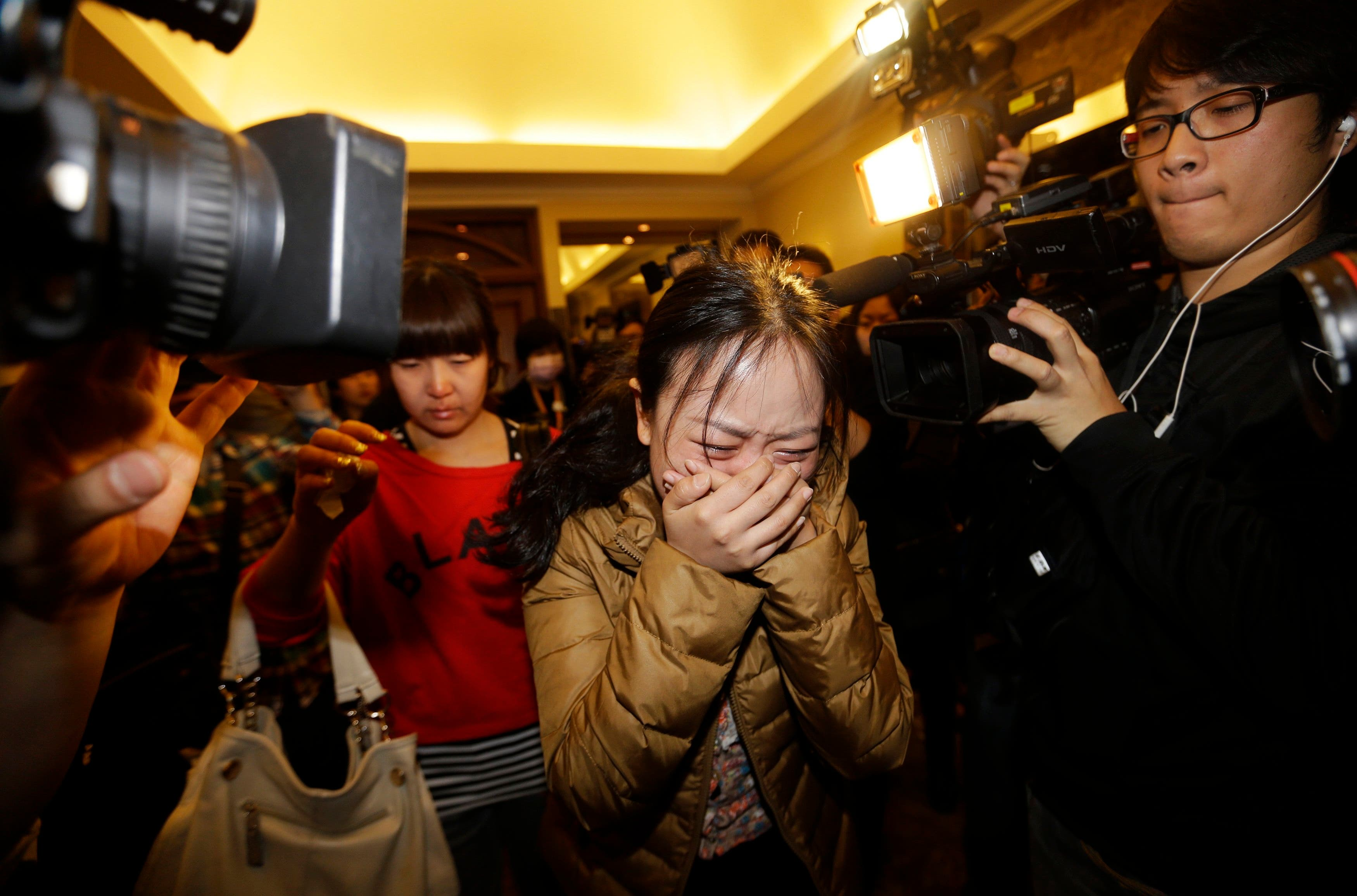 Family & friends of missing Malaysia Airlines passengers